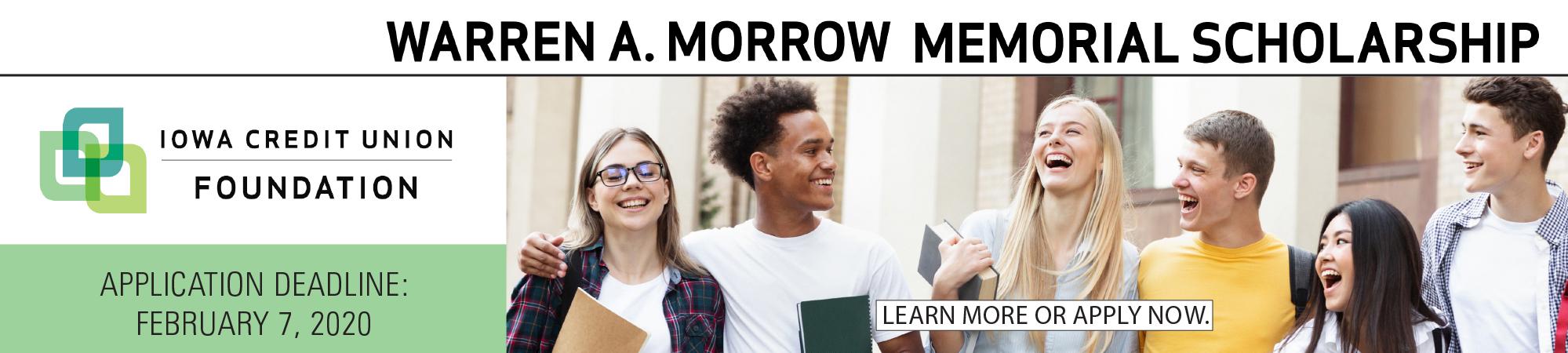 Warren Morrow Scholarship