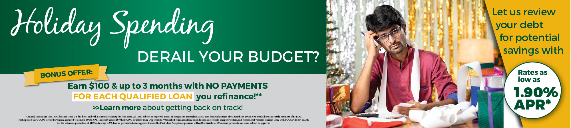 Holiday Spending Derail Your Budget