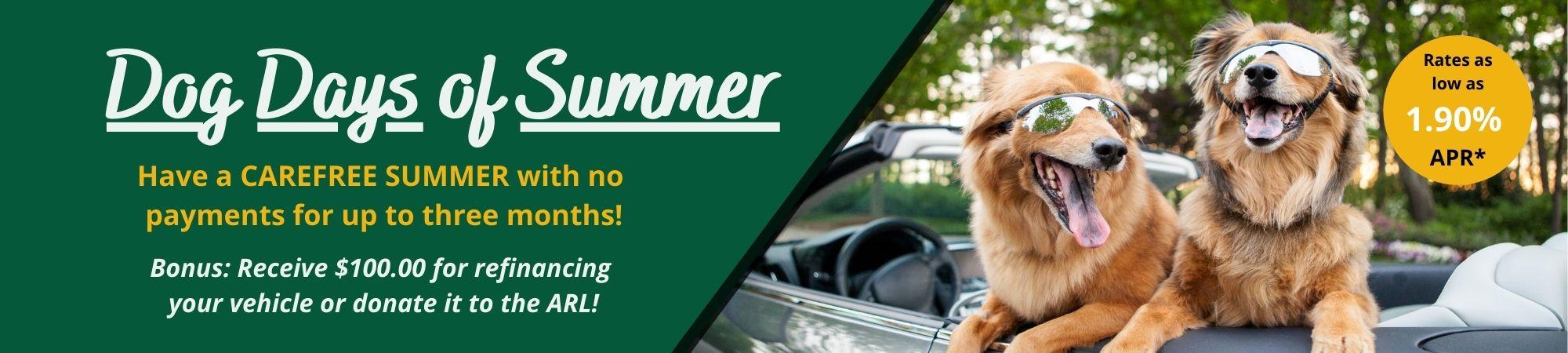 Summer Auto Loan