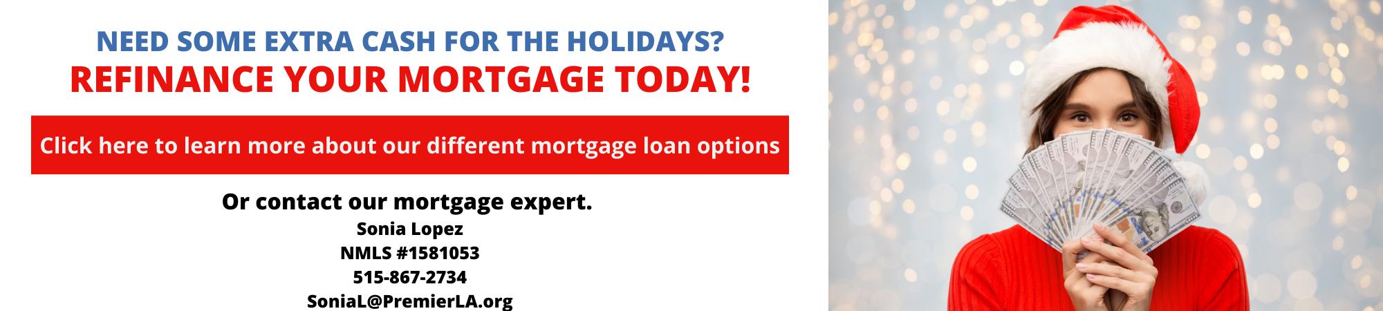 Mortgage Holiday